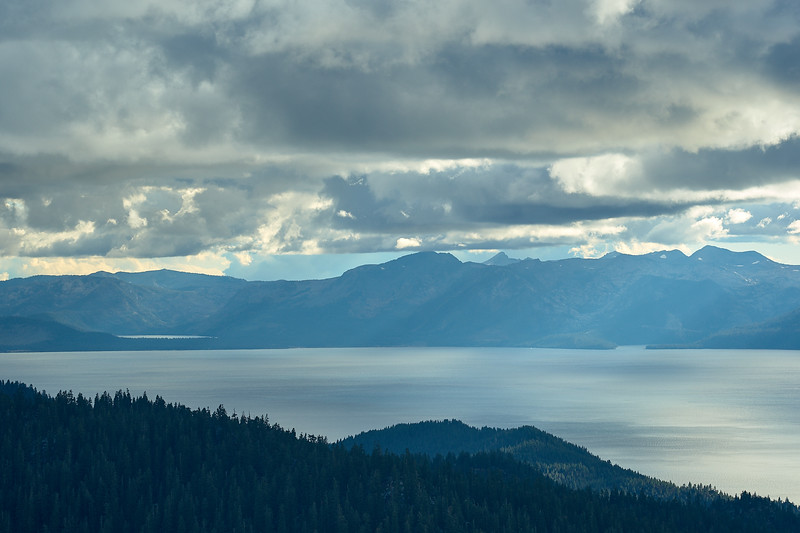 View of Lake Tahoe from Marlette Peak.