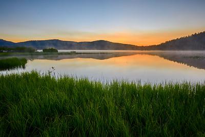 Dawn at Webber Lake