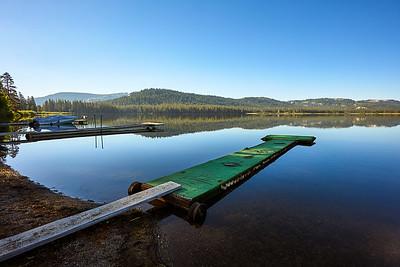 Docks at Webber Lake