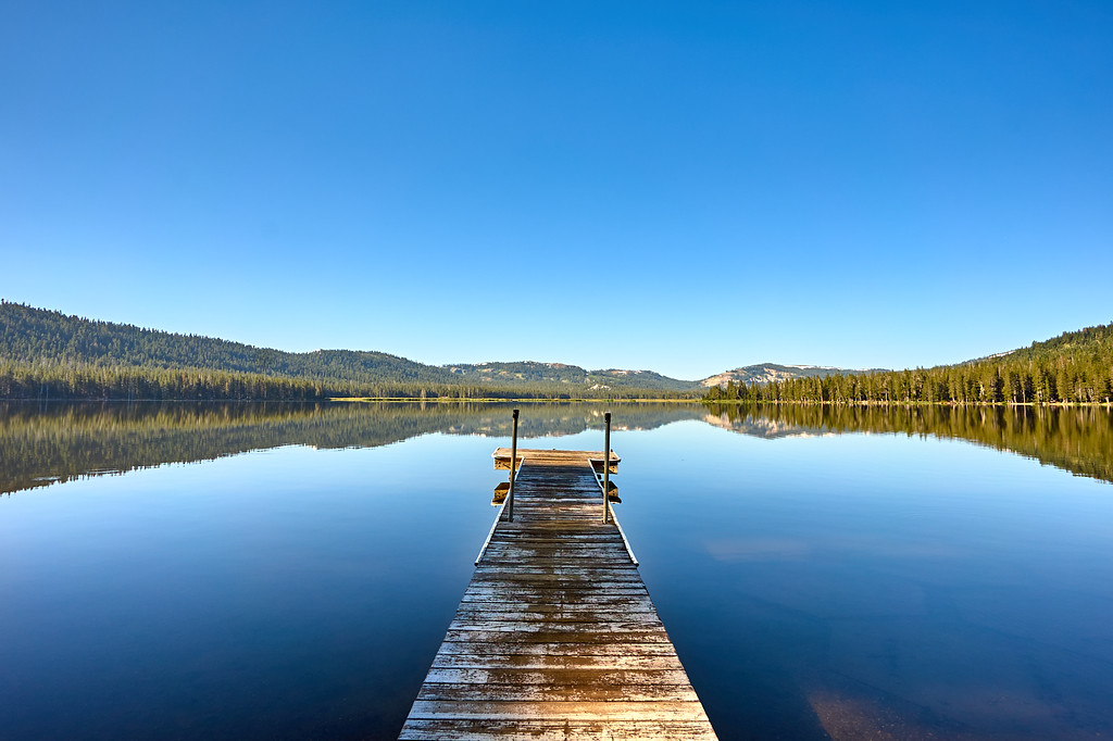 Dock at the Webber Lake Hotel