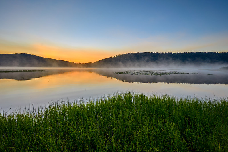 Dawn at Webber Lake