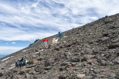 The final stretch up to the top of Mt Rose.