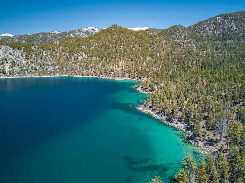 lake tahoe aerial