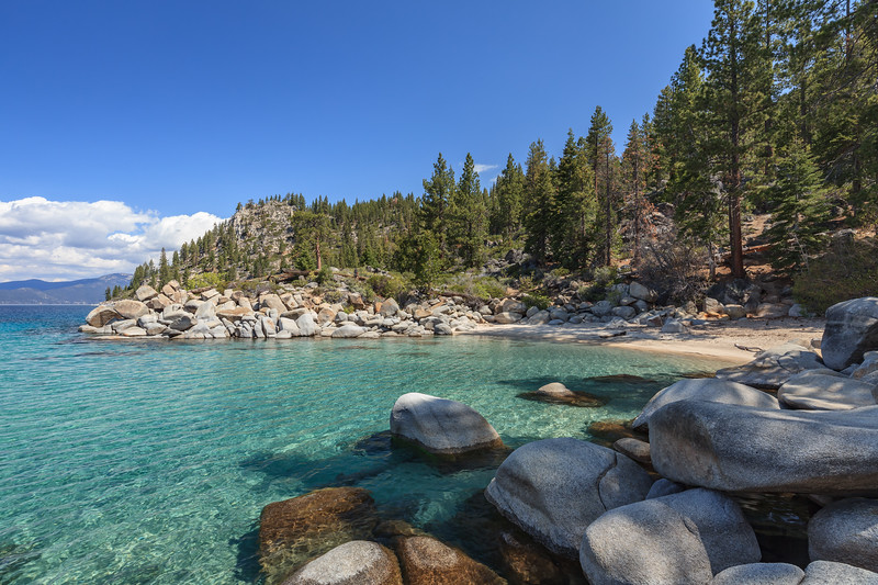 The small cove next to Skunk Harbor.