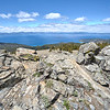The plateau of South Camp Peak, from the east shore of Lake Tahoe, along the Tahoe Rim Trail.