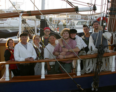 Crew of the Hawaiian Chieftain.  If you have individual names, leave as comment.