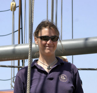 Third Mate/Engineer Emma Millet