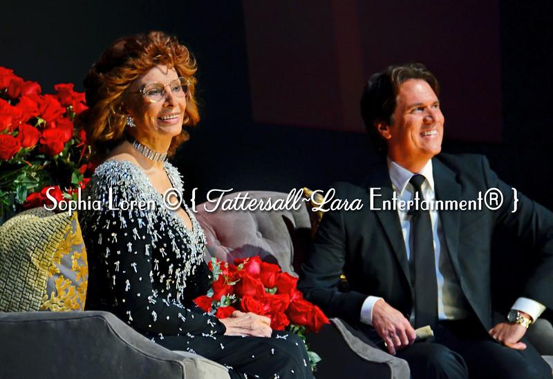 Sophia Loren and Rob Marshall @ AFI FEST © { TLE® }