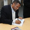Tavis Smily signs copies of hie new book Accountable Making America As Good As Its Promise : 1 gallery with 22 photos