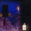 Four Baboons Adoring the Sun by John Guare. Directed by Bob Shea. March 12-15, 1997<br /> Hanaway Theatre. Scenic Design: Matt Kizer. Lighting Design:: Neil Anderson. Costume Design: Jane Stein.