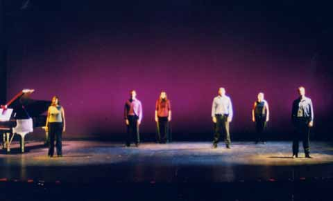 The Best of Broadway<br /> Sept. 30-Oct. 2, 1999<br /> Produced by Plymouth State Theatre and The Music Theatre Company<br /> Directed by Kate Arecchi<br /> Lighting Design: Liza Williams