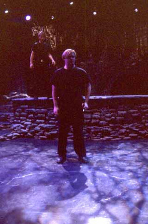Macbeth by William Shakespeare<br /> Directed by Kevin Gardner<br /> October 19-23, 2000<br /> Scenic Design: Greg Watkins<br /> Lighting Design: Liza Williams
