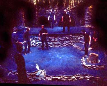 Macbeth by William Shakespeare<br /> Directed by Kevin Gardner<br /> October 19-23, 2000<br /> Scenic Design: Greg Watkins<br /> Lighting Design: Liza Williams