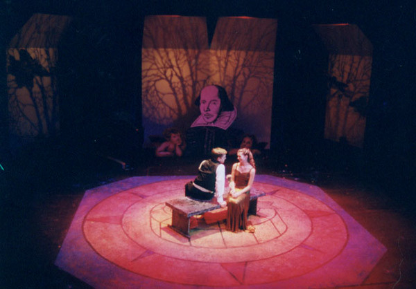The Bard and Broadway<br /> November, 2001, Studio Theatre<br /> Directed by Kathleen Arecchi & Eva Nagorka<br /> Scenic Design by Matt Kizer<br /> Costume Design by Sarah Edmunds<br /> Lighting Design by Jesse Riley