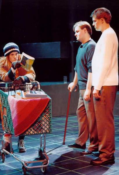 A New Brain<br /> by William Finn<br /> November 20 - 24, Studio Theatre<br /> Directed by Elizabeth Cox<br /> Scenic Design by Matt Kizer<br /> Costume Design by Angela Pitrone<br /> Lighting Design by Matt Whiton