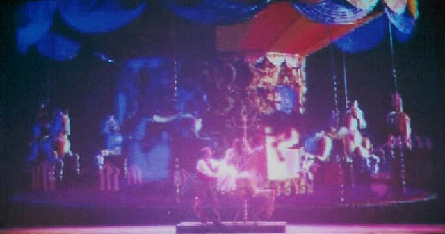 Carousel<br /> by Oscar Hammerstein<br /> April, 2003, Hanaway Theatre<br /> Directed by Kate Arecchi<br /> Scenic Design by Matt Kizer<br /> Costume Design by Angela Pitrone<br /> Lighting Design by Jesse Riley