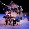 Mother Courage and Her Children<br /> by Bertolt Brecht<br /> April, 2004, Studio Theatre<br /> Directed by Kevin Gardner<br /> Scenic Design by Matt Whiton<br /> Costume Design by Angela Pitrone<br /> Lighting Design by Neil Anderson