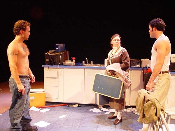 True West<br /> by Sam Shepherd<br /> September, 2003, Studio Theatre<br /> Directed by Heather Hamilton<br /> Scenic Design by Matt Whiton<br /> Costume Design by Angela Pitrone<br /> Lighting Design by Matt Kizer