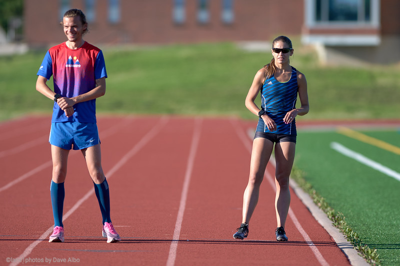 Becca Evans, Mile Time Trial