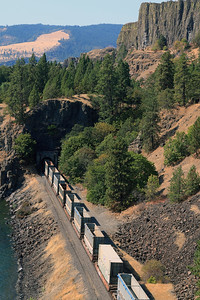 Train Tunnels on the Gorge