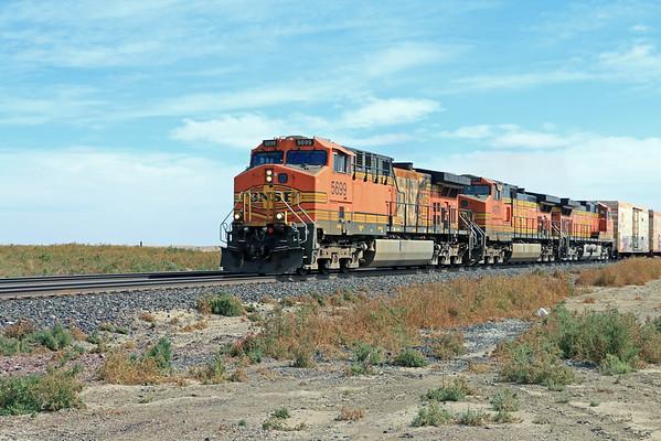 Trains on the plains