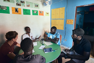 X-SUBA staff meet weekly to discuss the progress of current programs, finances, upcoming projects, and issues with students.