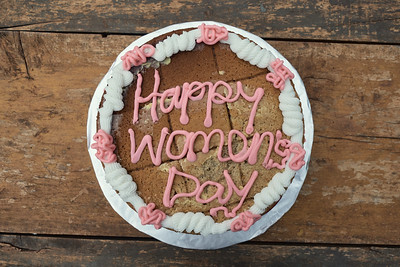 A special treat during X-SUBA's celebration of International Women's Day for their A Woman's Worth participants.