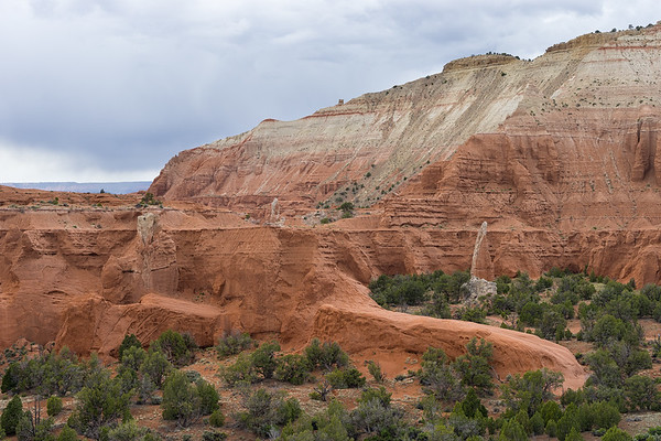 Views of the sandstone formations in Kodachrome Basin from the Angel's Palace Trail.