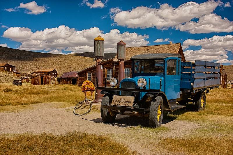 Antique Car, Bodie Ghost Town, California, USA