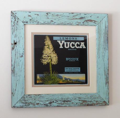 Yucca Fruit Crate Label
