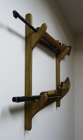 Gun Rack - poplar