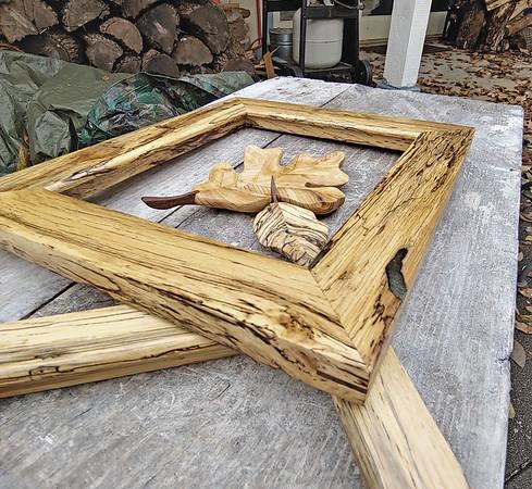 Spalted Elm frames