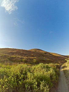 GoPro capture from the mountain bike trail.