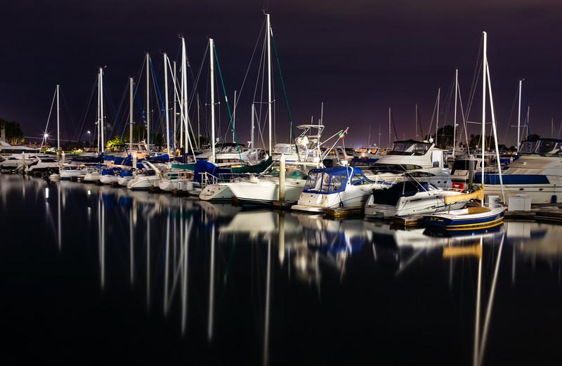 Marina in San Diego, California (January 2019)