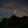 Milky Way over the Chisos Mountains, Big Bend National Park, Texas (April 2019)