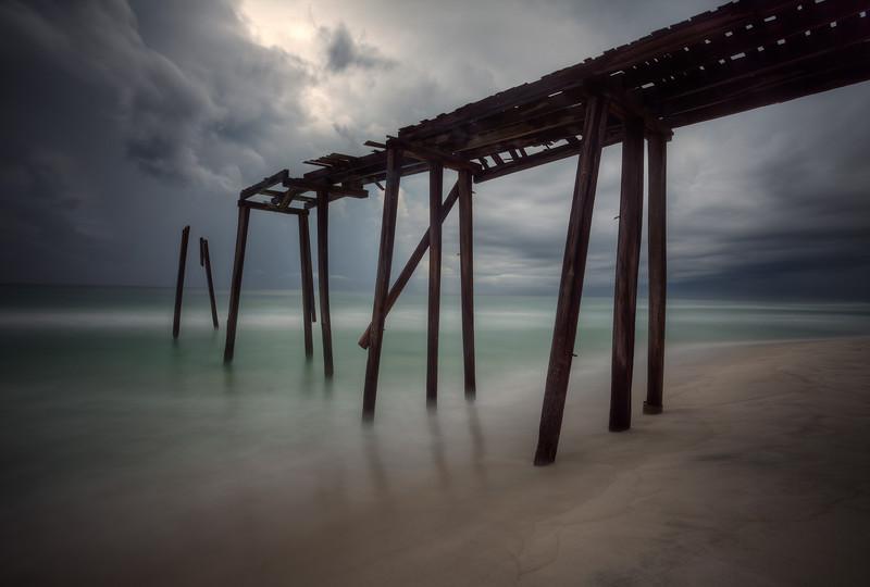 Pier at Inlet Beach, Florida (August 2012)