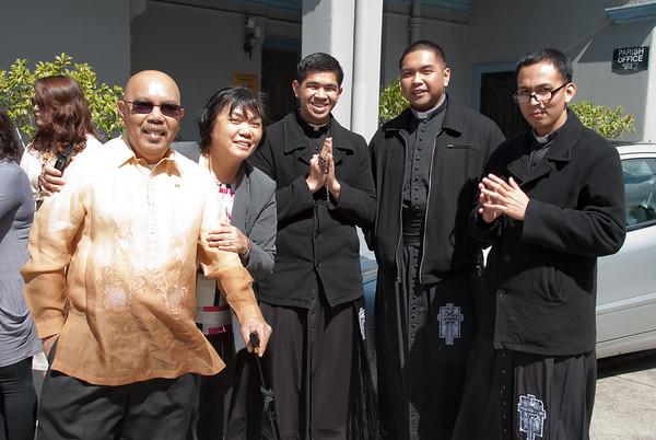 During the celebration of the Feast of San Lorenzo Ruiz held last 2 October 2011 at St Brigid's Church, Nicholson Street, Fitzroy, Victoria, Australia  gG_20111002_GRE_2107