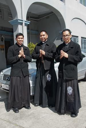 During the celebration of the Feast of San Lorenzo Ruiz held last 2 October 2011 at St Brigid's Church, Nicholson Street, Fitzroy, Victoria, Australia  gG_20111002_GRE_2108