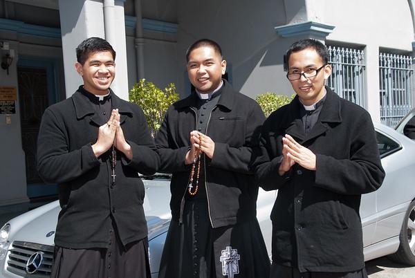 During the celebration of the Feast of San Lorenzo Ruiz held last 2 October 2011 at St Brigid's Church, Nicholson Street, Fitzroy, Victoria, Australia  gG_20111002_GRE_2109