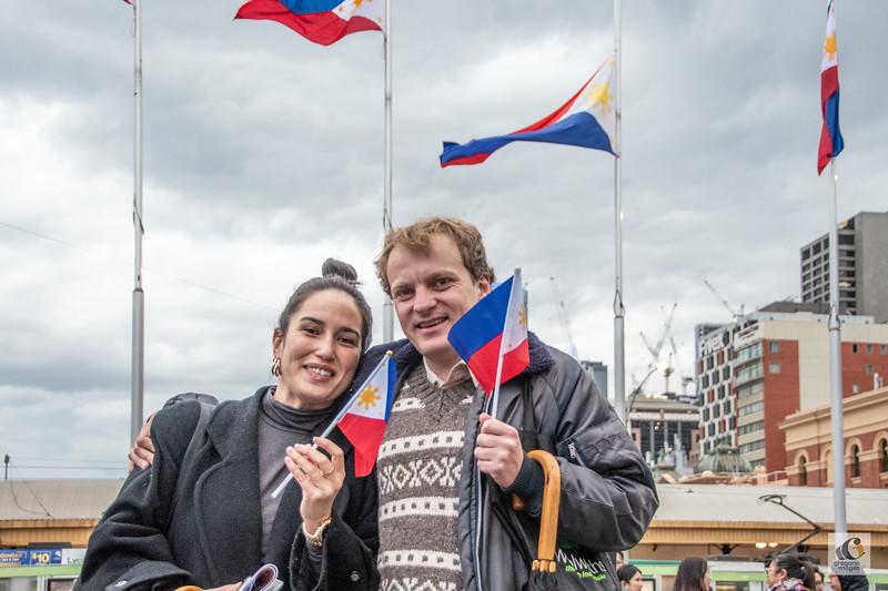 Catherine Ortega and Benjamin Golby
