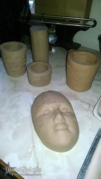Pinch Pot  and slab cups Assignment