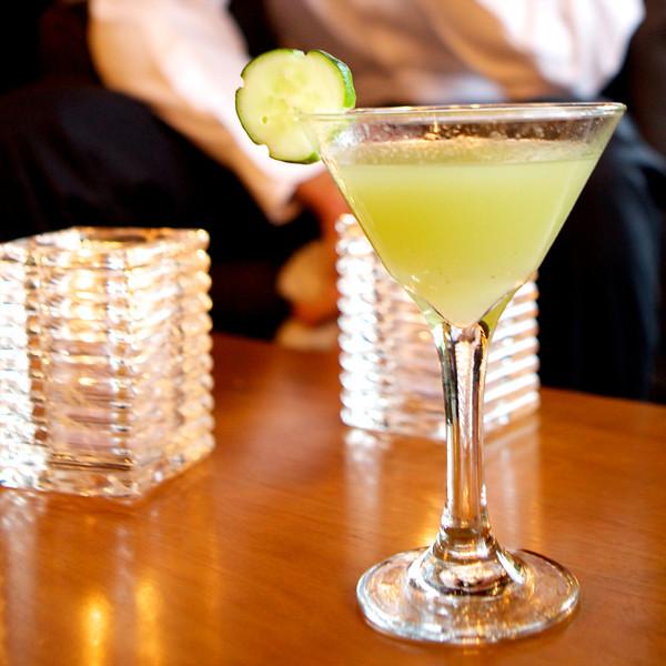 Cucumber martini<br /> <br /> IMG_3480 12