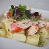 "Appetizer:  Lobster Mac & Cheese | ricotta gnocchi, Maine lobster, chives, aged cheddar cheese <br /> <br /> Posana Café's Lobster Mac & Cheese, conceived during the ""Got To Be N.C."" Competition Dining Series' Fire on the Rock.<br /> <br /> IMG_4362"