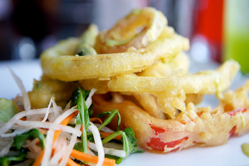 Vegetable Tempura<br /> <br /> Posana Cafe Gluten Free Dishes 27