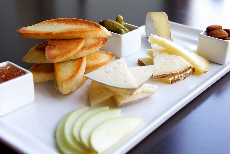 Local Cheese Plate<br /> <br /> Posana Cafe Gluten Free Dishes 29