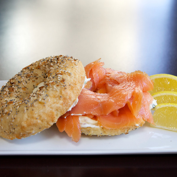 Gluten Free Bagel and Lox<br /> <br /> 2.12.11 43