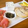 House made bagel and lox<br /> <br /> IMG_4074