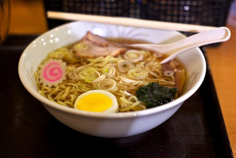 Just a good, honest and classic bowl of shoyu ramen at Shinkawa Shokudo.