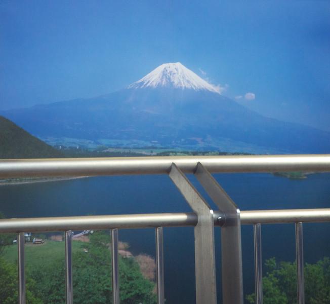 Mount Fuji as advertised