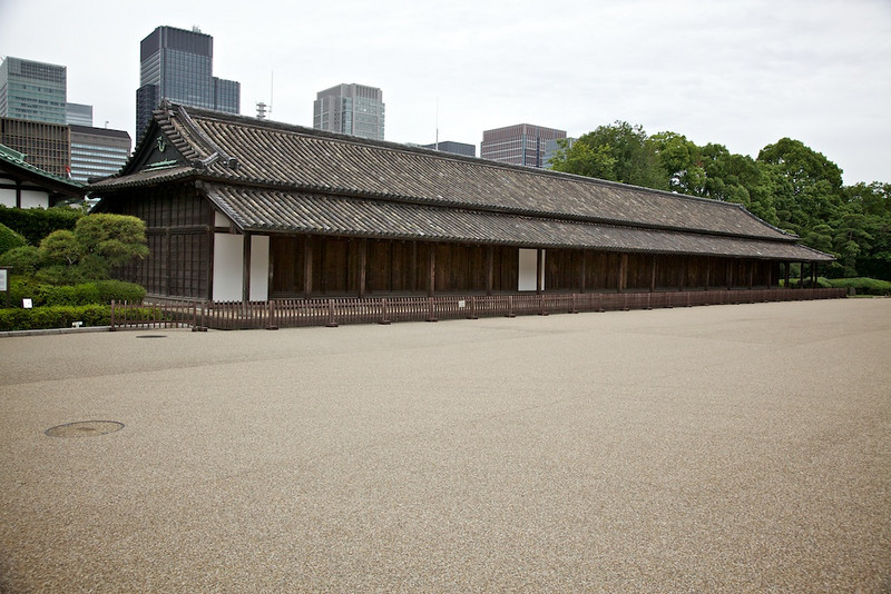 Guardhouse at the Tokyo Imperial Palace.